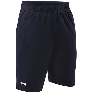 TYR MENS NAVY LAKE FRONT LAND TO WATER SHORTS