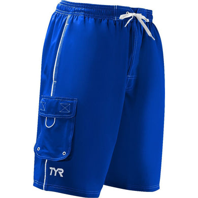 TYR MEN'S ROYAL CHALLENGER SWIM SHORT