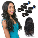 360 lace frontal band with bundles