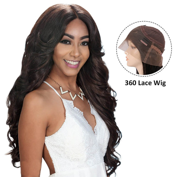 360 Lace Wig body weave