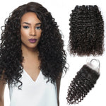 cheap hair bundles with closure