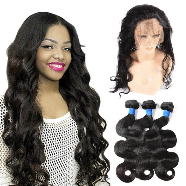 360 lace frontal and bundles