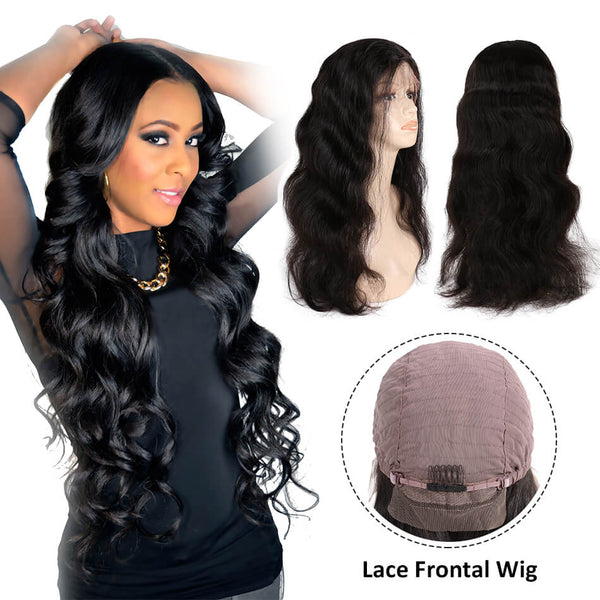 Lace Frontal Wigs body weave