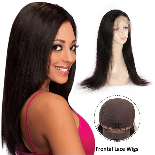 Lace Frontal Wigs Straight hair