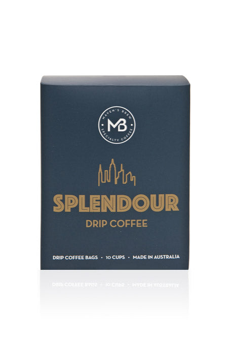 Medium roast drip coffee bags