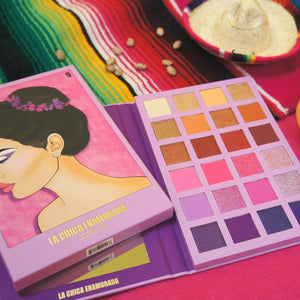 La Chica Enamorada Shadow Palette x Mireya Duo Lippies