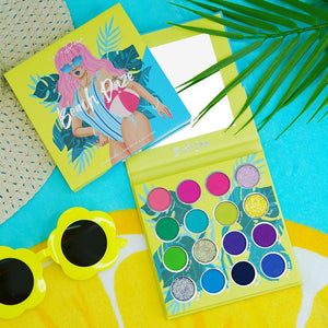 BEACH DAZE EYESHADOW PALETTE x 3D MINK LASHES