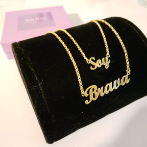 Soy Brava Necklace