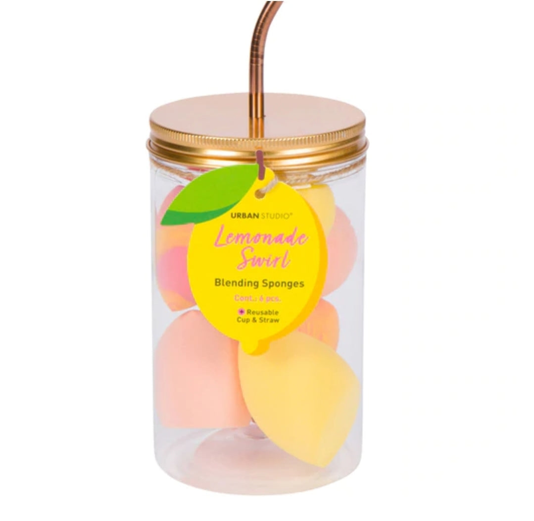 Lemonade blending sponge