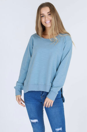 ULVERSTONE SWEATER DUCK EGG