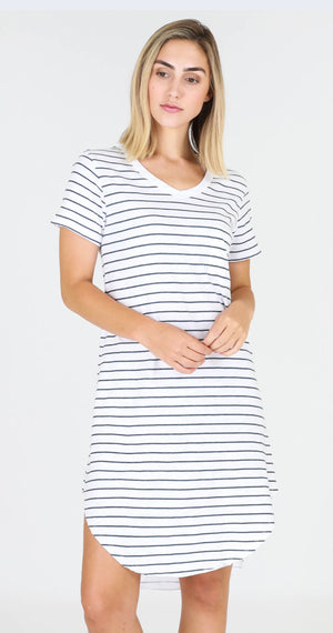 MILLY DRESS-STRIPE