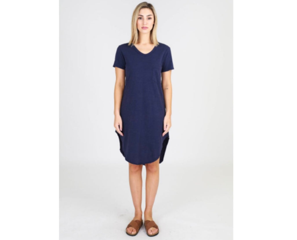MILLY DRESS-INDIGO