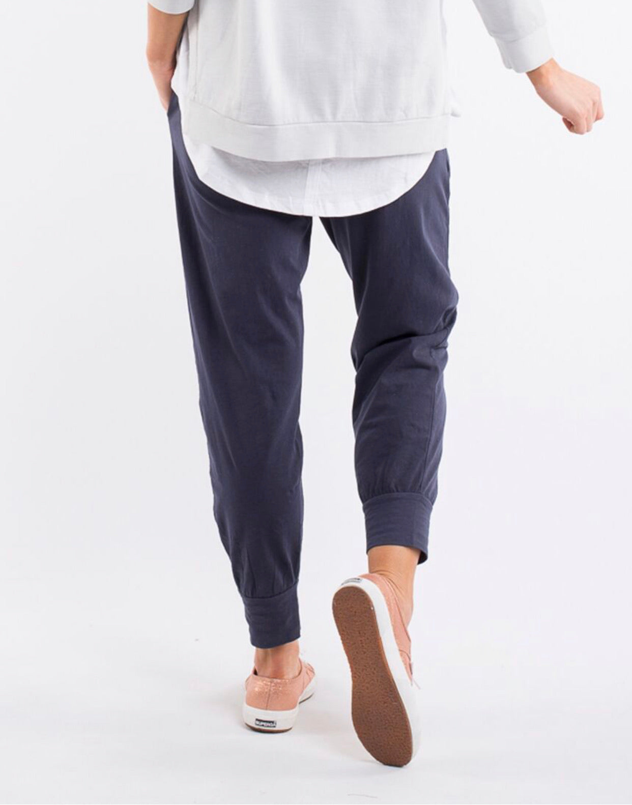 NEW WASHOUT PANT NAVY