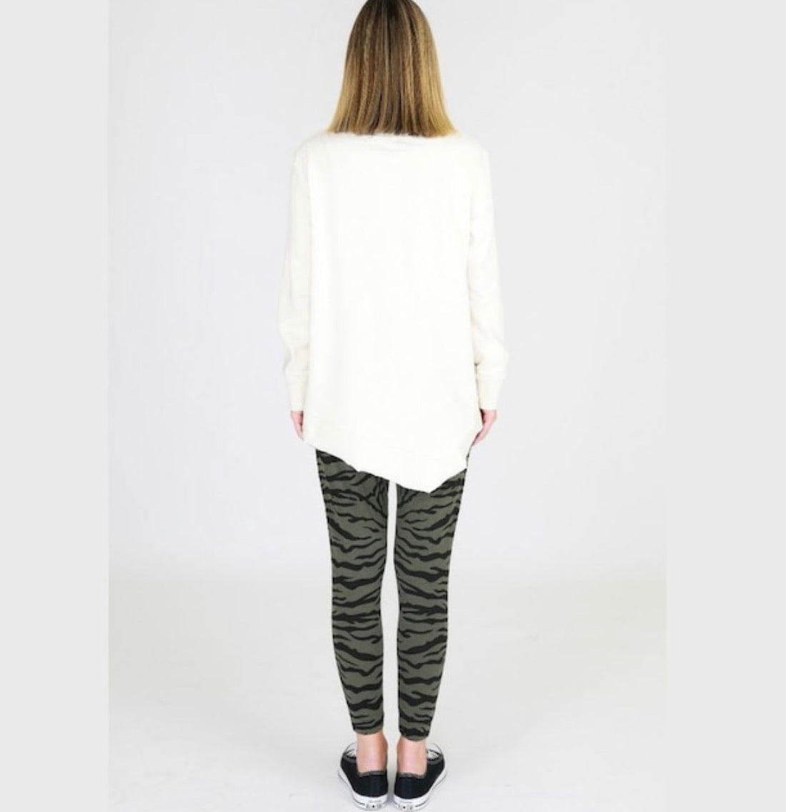 JENNA SWEATER-PEARL WHITE