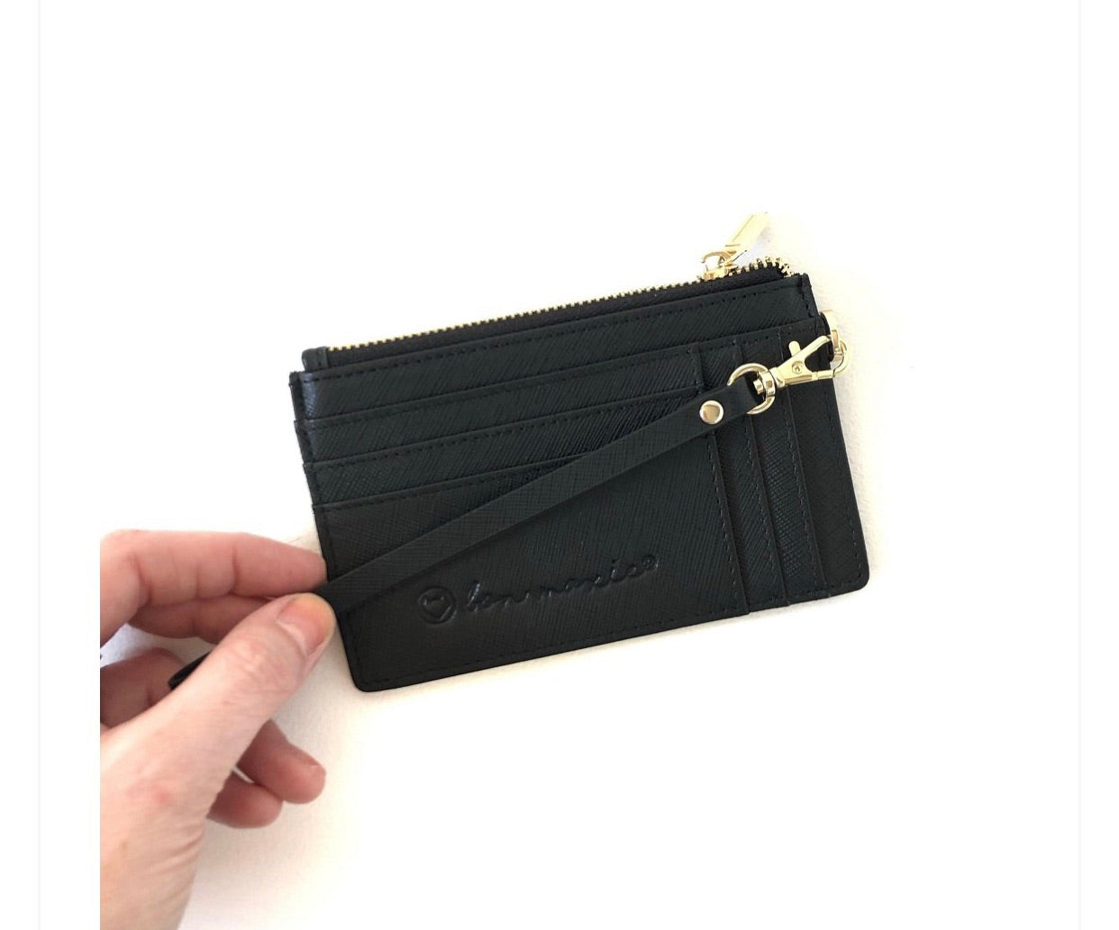 MIGHTY MINI WALLET-BLACK