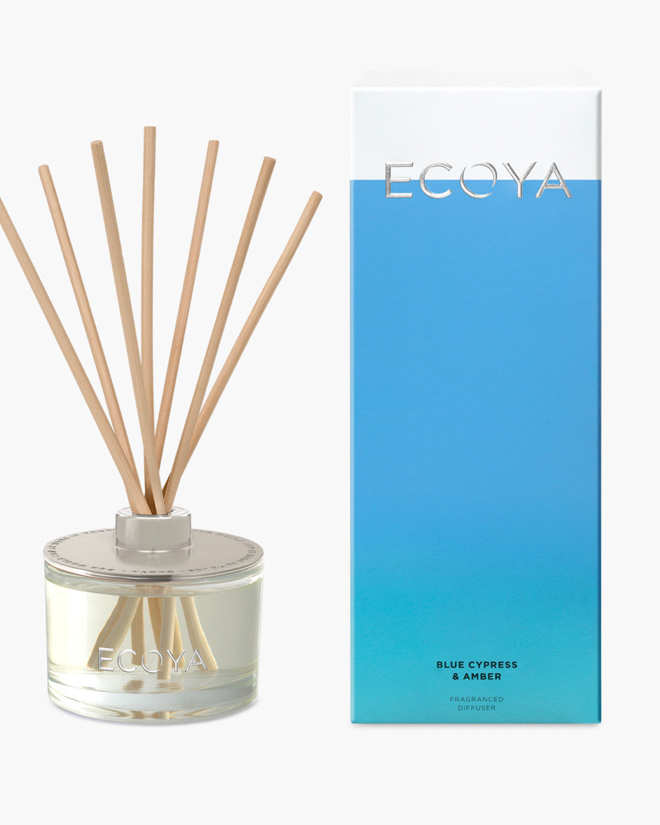 REED DIFFUSER BLUE CYPRESS & AMBER