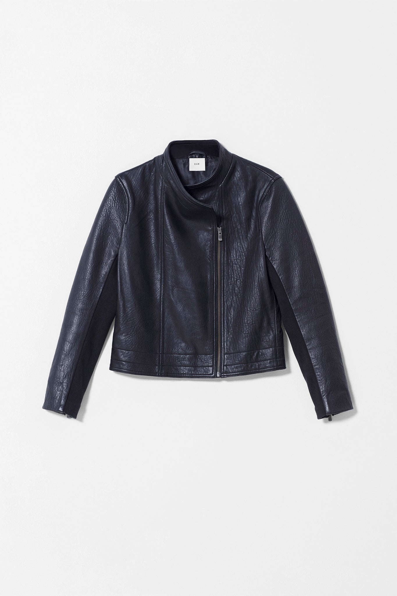 LADER LEATHER JACKET BLACK
