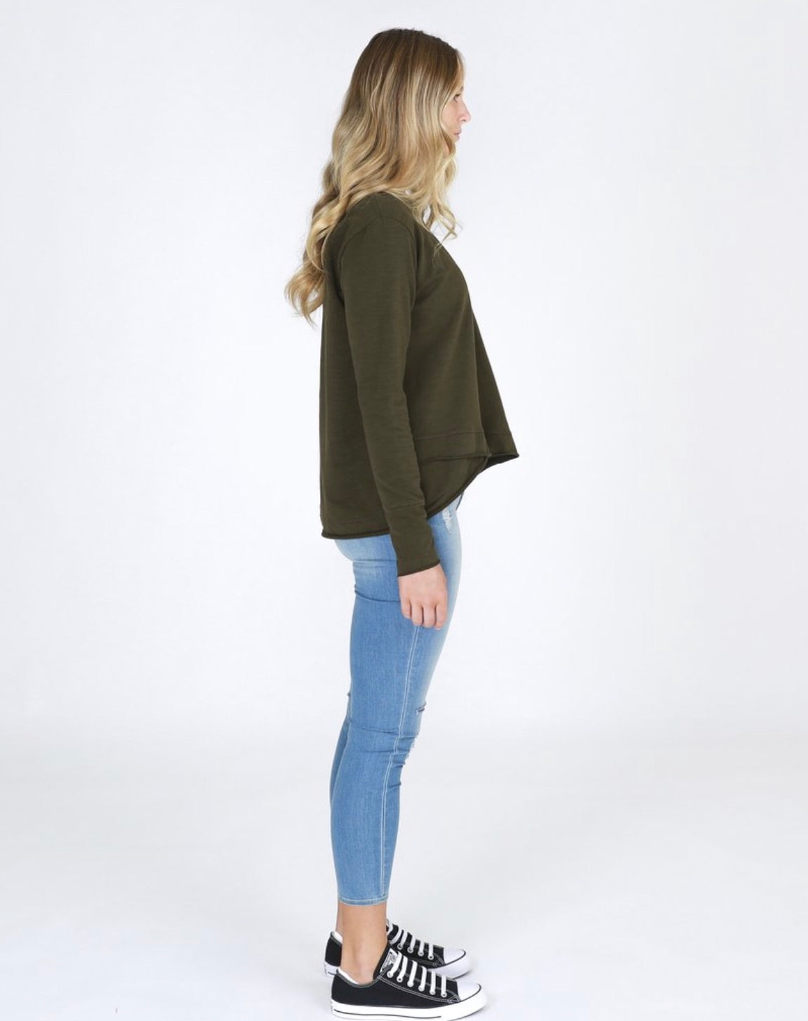 FLINDERS SWEATER KHAKI