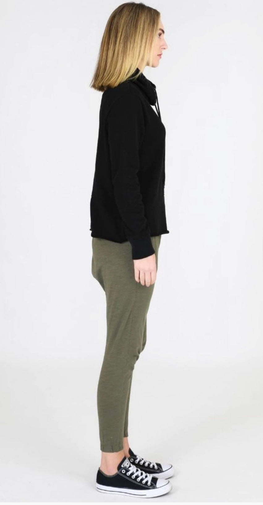 CAITLYN SWEATER  BLACK