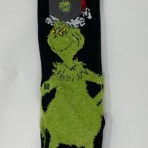Stance, Fuzzy Grinch Socks