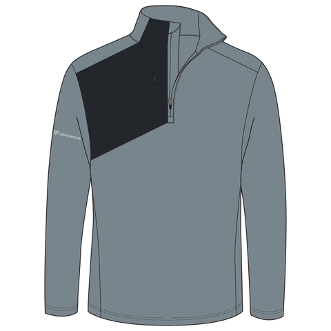 NEW Crescent Branded Levelwear Men's 1/4 Zip