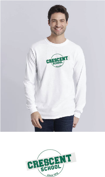 Long Sleeve Sleeve T-shirt, Adult & Youth