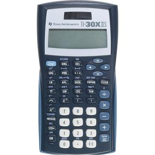 Texas Instruments TI-30XIIS Solar 2-Line Scientific Calculator, Navy