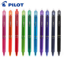 Pilot Frixion Clicker Erasable Gel Ink Pen, Roller Ball Point, Retractable, Refillable,