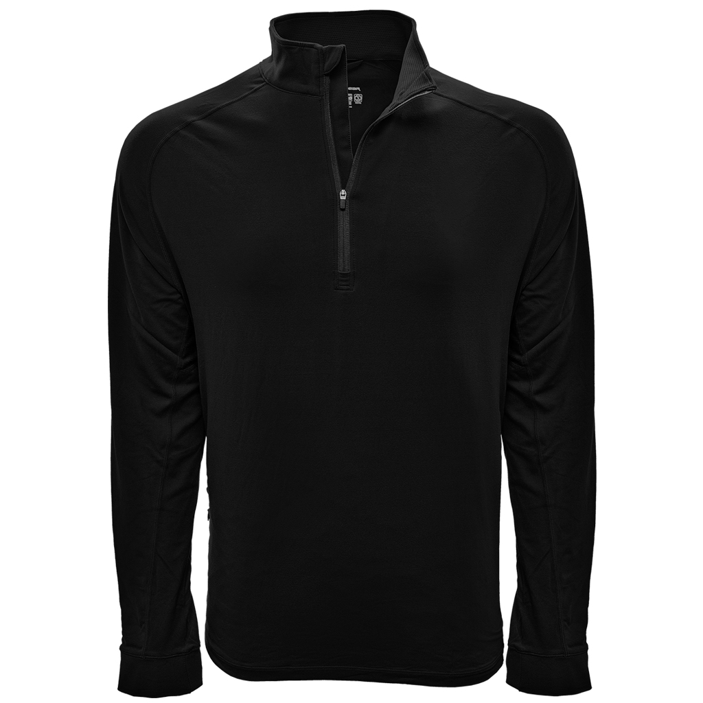 Men's Crescent Branded Levelwear, Peak Active 1/4 Zip