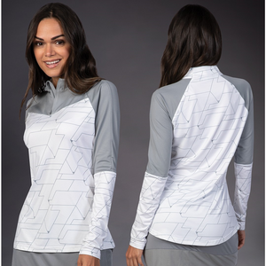 NEW Crescent Branded Levelwear Women's Long Sleeve Pullover