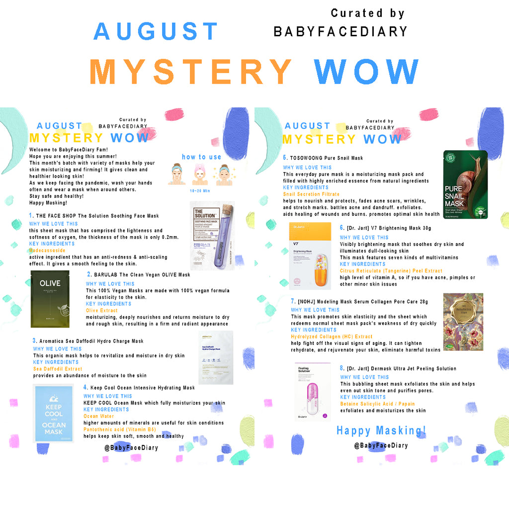 2020 August Mystery Wow