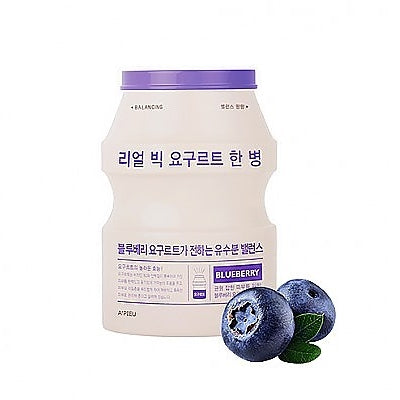 [A'PIEU] Real Big Yogurt One-Bottle #Blueberry