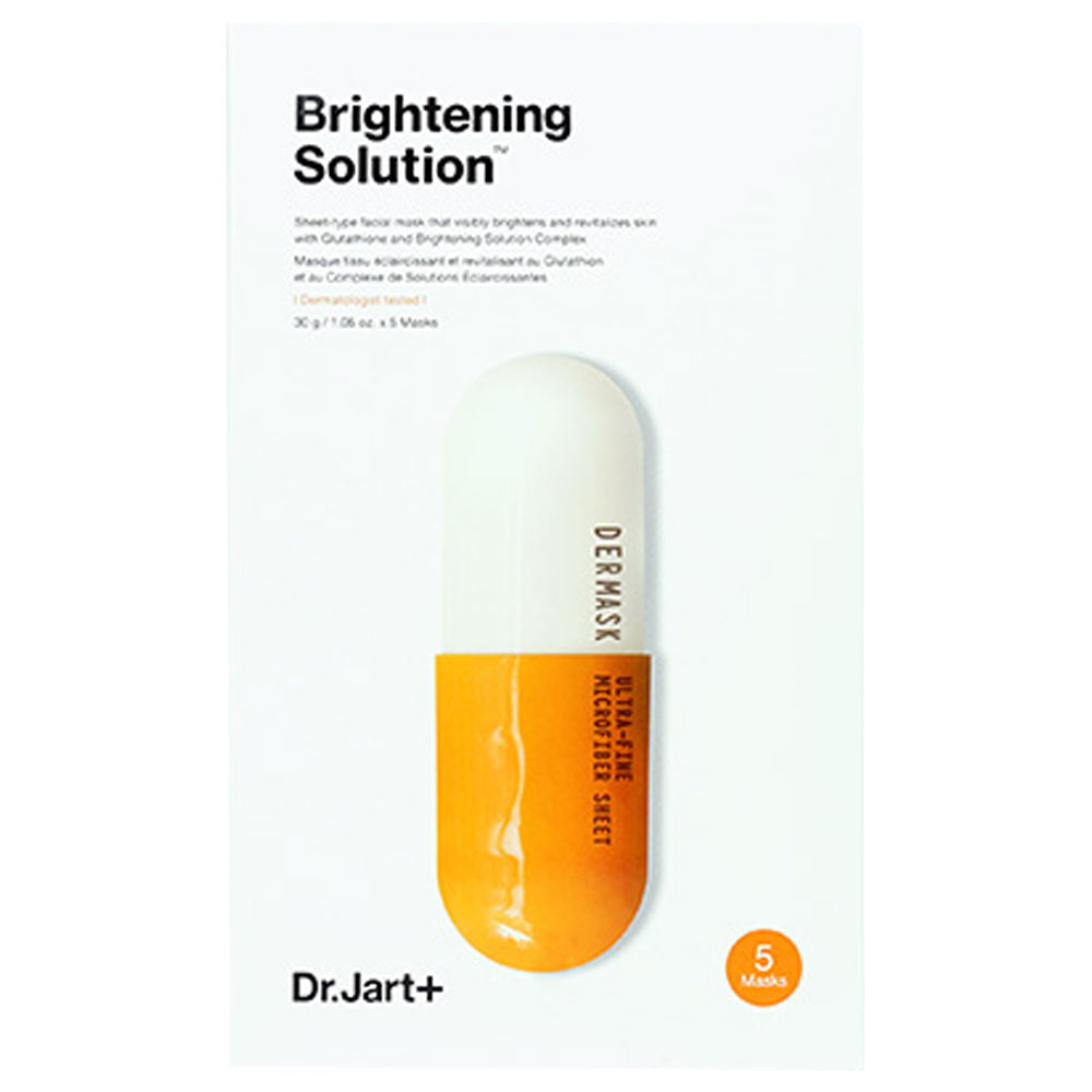 Dr.Jart Sheet Mask Variety Set 6 Pack Bundle in a Customized Gift Packaging (Brightening)