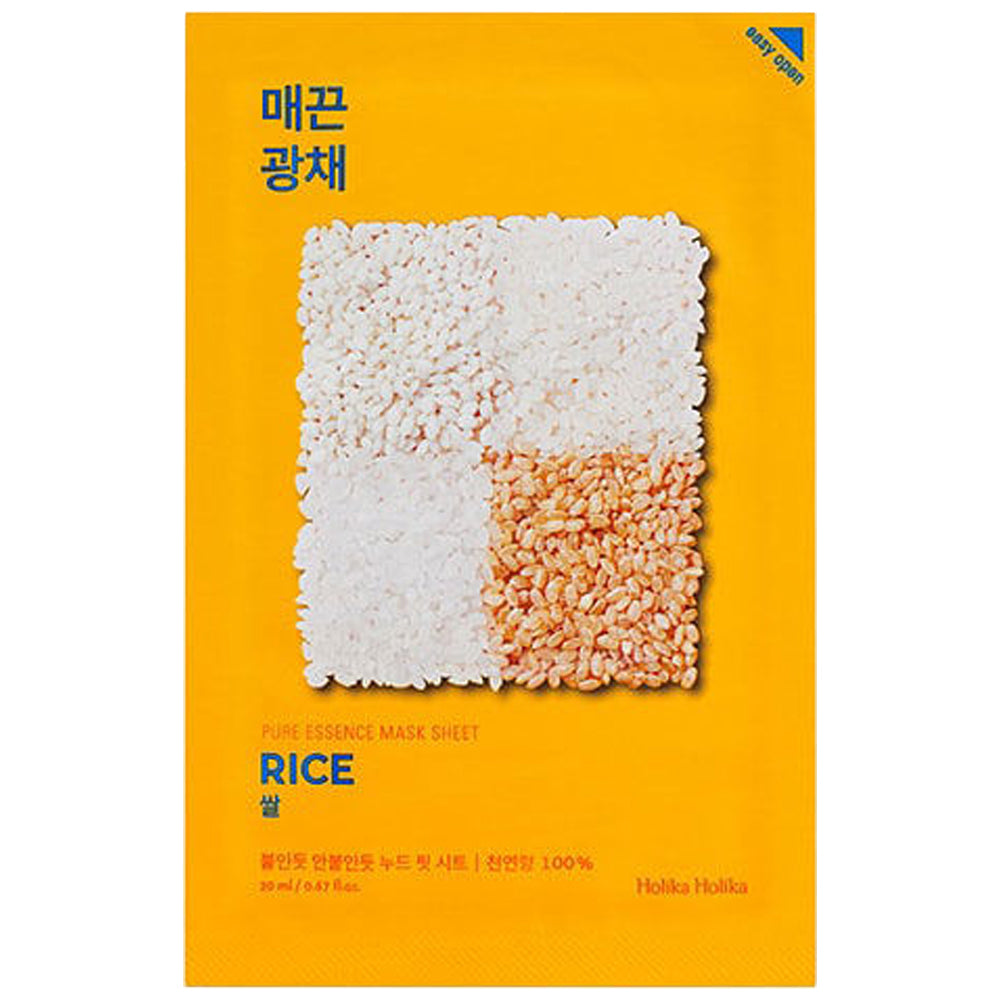 [Holika Holika] Pure Essence Mask Sheet RICE 20ml