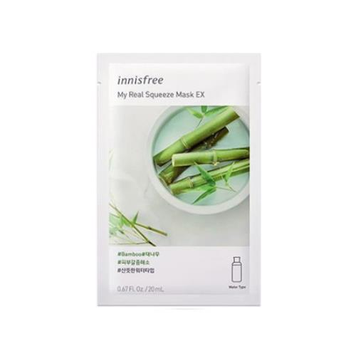 [Innisfree] My Real Squeeze Mask EX Bamboo