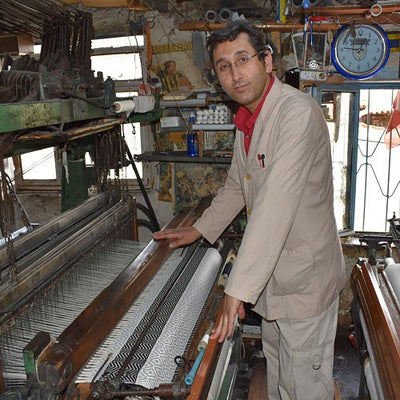 Artisan Bath and Beach Towel Weaving - Turkey. Meet Kadir.