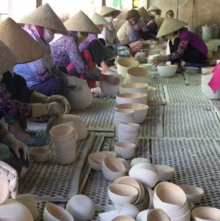 Basket making - Vietnam