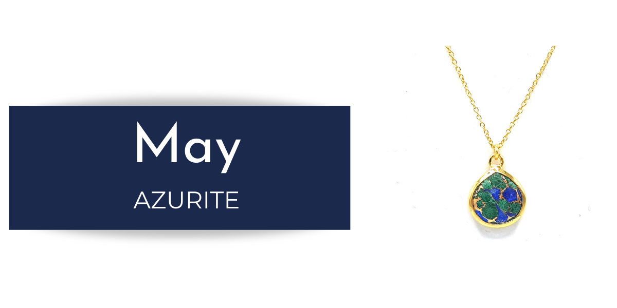 Azurite - May Birthstone Collection