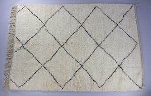 Authentic Beni Ourain Moroccan Rug by Harfi