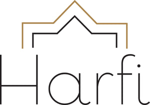 Harfi logo rug throw basket leather bag argan oil handmade fouta towel