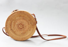 Load image into Gallery viewer, Kara - crossbody, rattan summer handbag