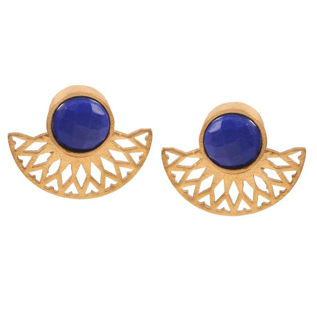 Blue Krisha earrings