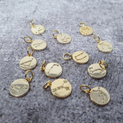 18k Gold Astra Constellation Pendant Charms