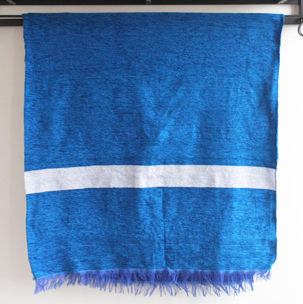 Mecca Moroccan Throw, Azure Blue