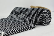Azra Hammam Towel Black & White