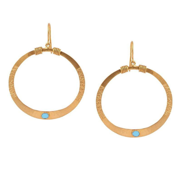 Sky Blue Tanvi earrings