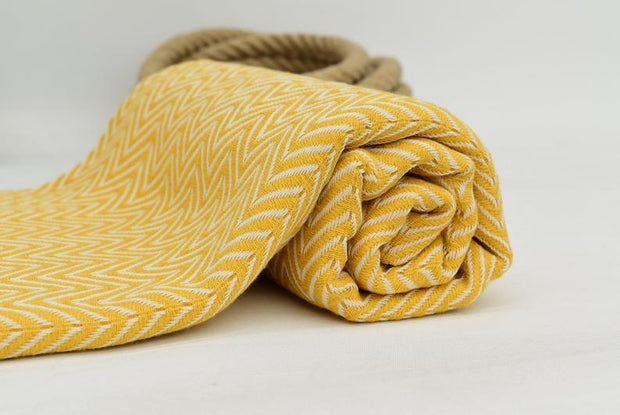 Azra Hammam Towel Mustard Yellow