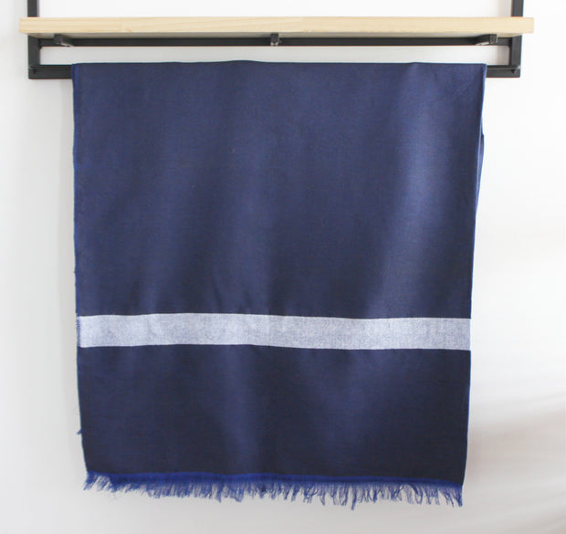 Ali Blue Moroccan Throw