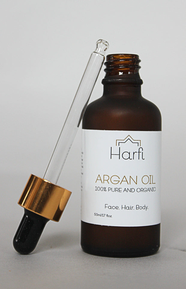 Argan Oil - pure and organic argan oil for the face, hair and body