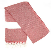 Destan Hammam Towel, Red